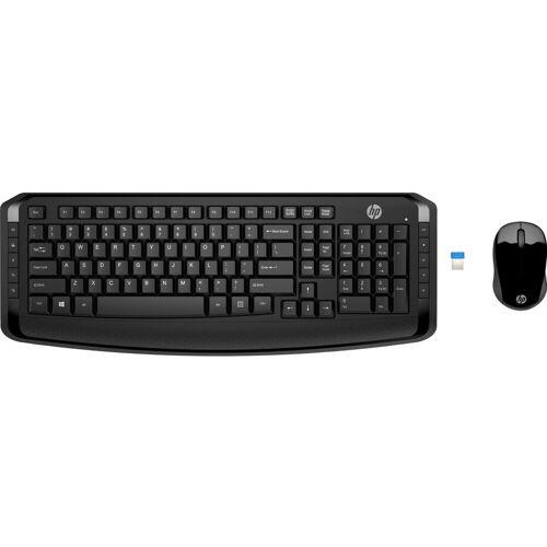 HP kabellose Tastatur und Maus 300 QWERTZ Tastatur-Maus-Set