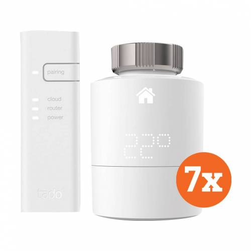 Tado Smart Heizkörperthermostat Starter 7er-Pack Thermostat