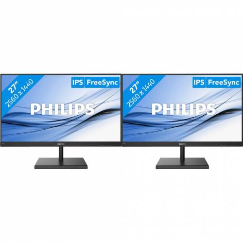 Philips 2x Philips 275E1S/00 Bildschirm