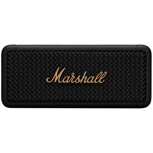 Marshall Emberton Schwarz/Gold Bluetooth-Lautsprecher