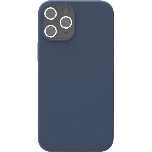 Azuri Backcover Apple iPhone 12/12 Pro Silikon-Backcover in Blau