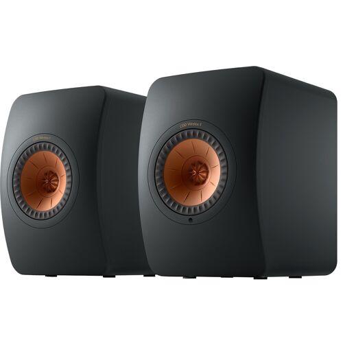 KEF LS50 Wireless II Schwarz (pro Paar) WLAN-Lautsprecher