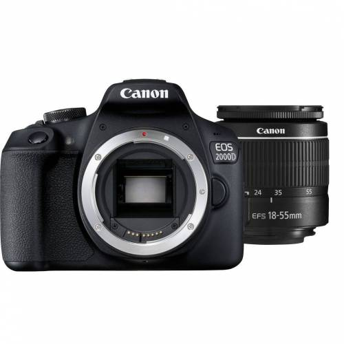 Canon EOS 2000D + 18-55 mm f/3.5-5.6 DC III Spiegelreflexkamera