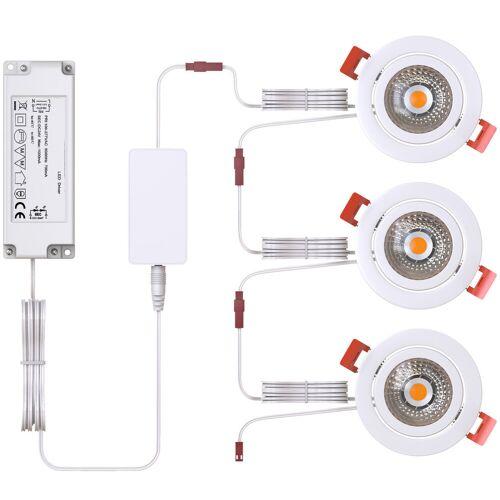 Innr RSL 115 Einbaustrahler 3er-Pack Smart-Home-Lampe