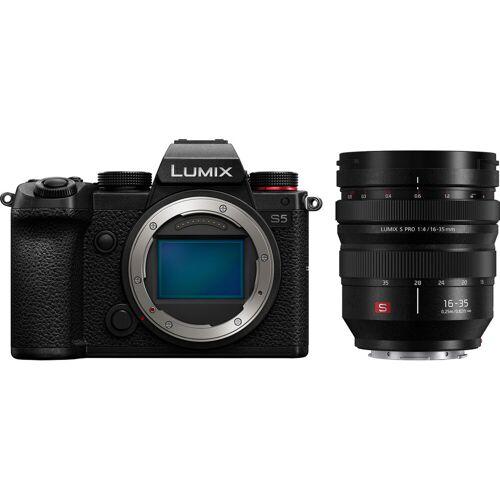 Panasonic Lumix DC-S5 + Lumix S Pro 16-35 mm f/4 Systemkamera
