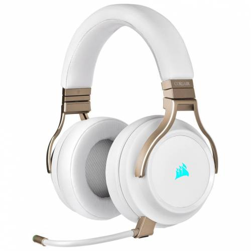 Corsair Kabelloses Gaming-Headset Corsair Virtuoso RGB Pearl Gaming-Headset