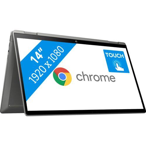 HP Chromebook x360 14c-ca0241ng Qwertz Laptop