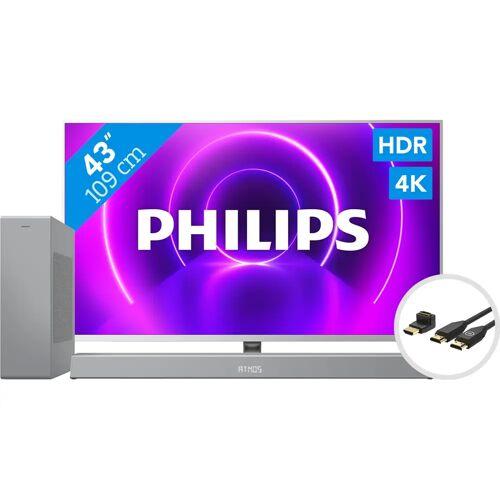 Philips 43PUS8505 - Ambilight (2020) + Soundbar + HDMI-Kabel Fernseher