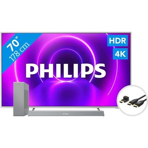 Philips 70PUS8505 - Ambilight (2020) + Soundbar + HDMI-Kabel Fernseher
