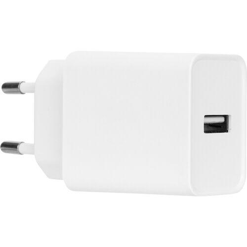 Azuri Ladegerät ohne Kabel 1 USB-A-Port 12 W Weiß Ladegerät