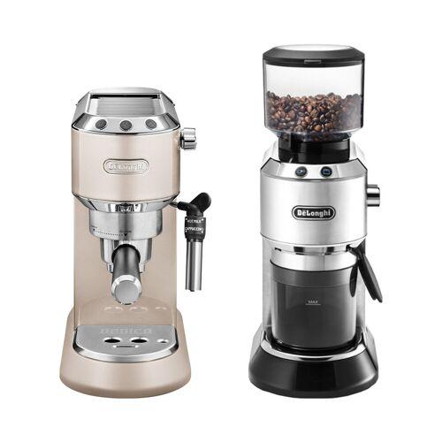 DeLonghi Dedica Metallics EC 785 Crème + Kaffeemühle