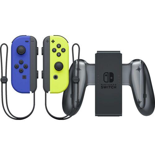 Nintendo Switch Joy-Con set Blau/Neon Gelb + Nintendo Switch Joy-Con Charge Grip