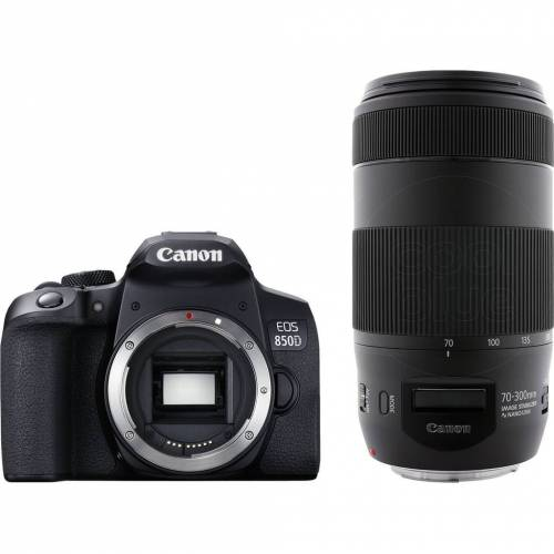 Canon EOS 850D + EF 70-300 mm f/4-5.6 IS II USM Spiegelreflexkamera