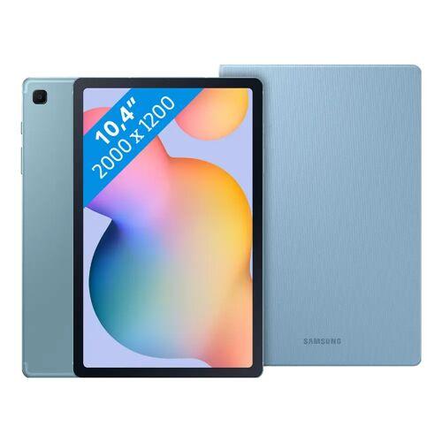 Samsung Galaxy Tab S6 Lite 128 GB WLAN + 4G Blau + Samsung Bookcase Blau