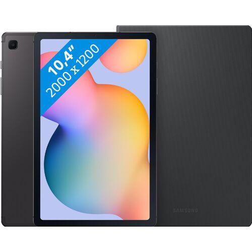 Samsung Galaxy Tab S6 Lite 64 GB WLAN + 4G Grau + Samsung Bookcase Grau