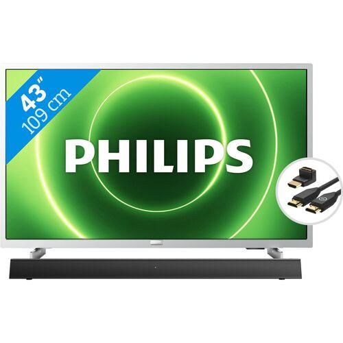 Philips 43PFS6855 + Soundbar + HDMI-Kabel Fernseher