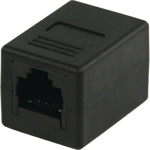 Valueline RJ45 CAT5 Verbinder Schwarz UTP-Kabel