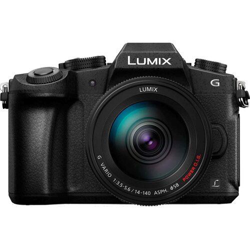 Panasonic Lumix DMC-G80 + 14-140 mm Systemkamera