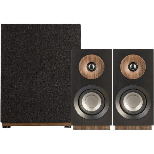 Jamo S 801 2.1-Lautsprecher-Set Schwarz HiFi-Lautsprecher