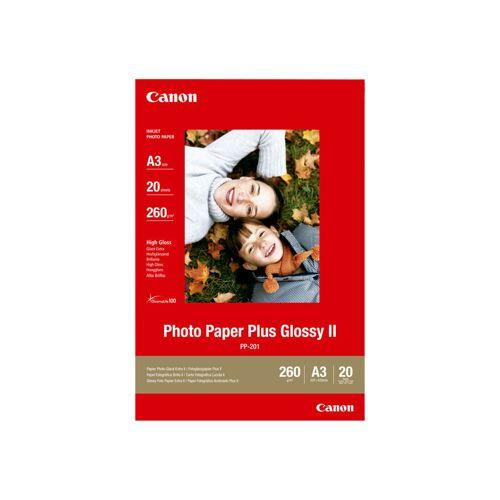 Canon PP-201 Glossy Plus Fotopapier 20 Blatt A3 Papier-