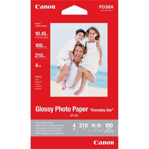 Canon GP-501 Hochglanz-Fotopapier 100 Blatt 10 x 15 cm Papier-