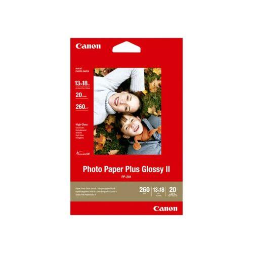 Canon PP-201 Glossy Plus Fotopapier 20 Blatt 13 x 18 cm Papier-