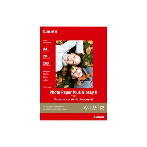 Canon PP-201 Glossy Plus Fotopapier 20 Blatt A4 Papier-