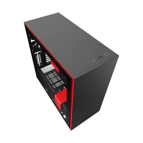 NZXT H710 Schwarz/Rot Computergehäuse