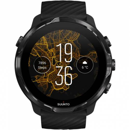 Suunto 7 Schwarz/Grün Smartwatch