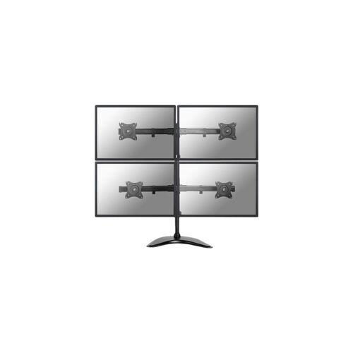 NewStar NM-D335D4BLACK Schreibtischhalterung Monitorarm