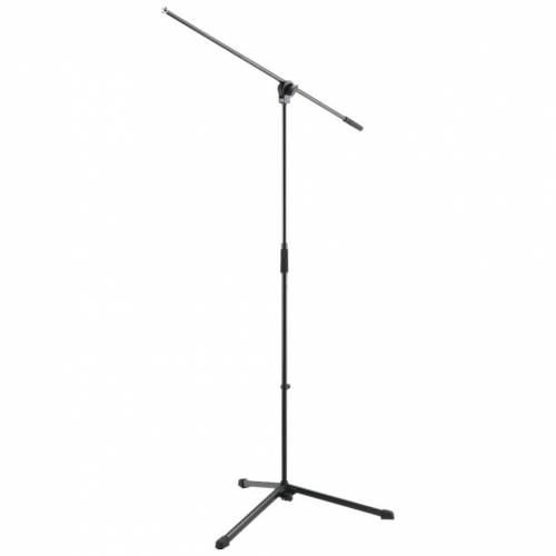 K&M 254 Mikrofonstativ Schwarz Mikrofonständer