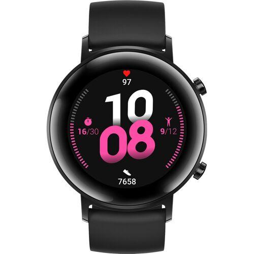Huawei Watch GT 2 Edelstahl Schwarz 42 mm Smartwatch