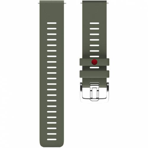 Polar Silikonarmband Grün M/L 22 mm Uhrenarmband