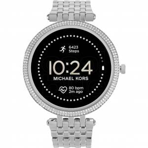 Michael Kors Darci Gen 5E Display MKT5126 Silber/Silber Smartwatch