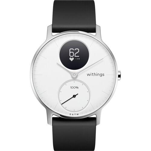 Withings Steel HR Silber/Weiß 36 mm Smartwatch