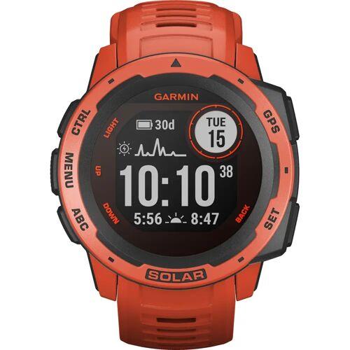 Garmin Instinct Solar Rot Smartwatch