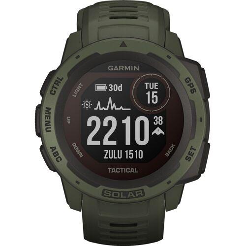 Garmin Instinct Solar Tactical Grün Smartwatch