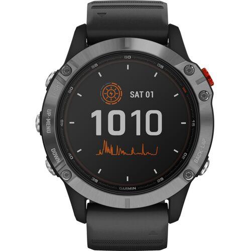 Garmin Fenix 6 Solar - Silber - 47 mm Smartwatch