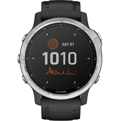 Garmin Fenix 6S Solar - Silber - 42 mm Smartwatch
