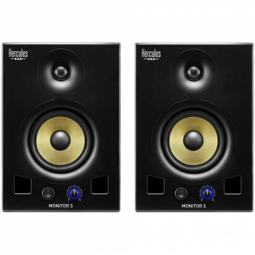 Hercules Monitor 5 Duo-Pack Studiolautsprecher