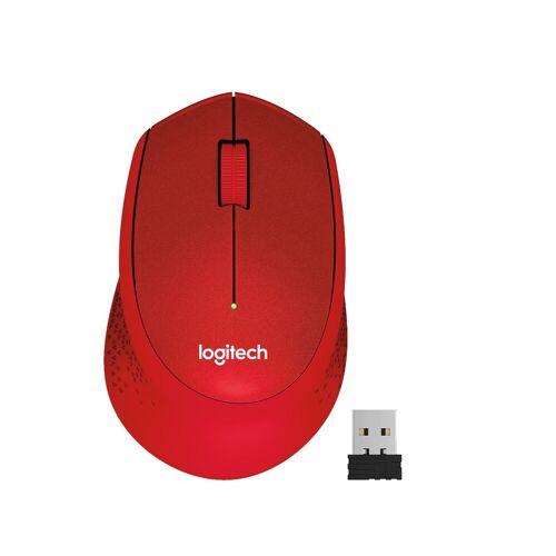 Logitech Kabellose Logitech-Maus M330 Silent Rot Maus