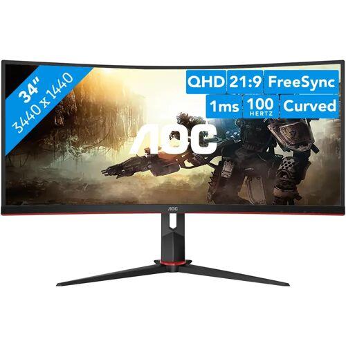 AOC CU34G2/BK Bildschirm