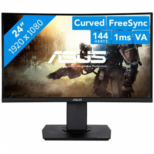 Asus TUF Gaming VG24VQ Bildschirm