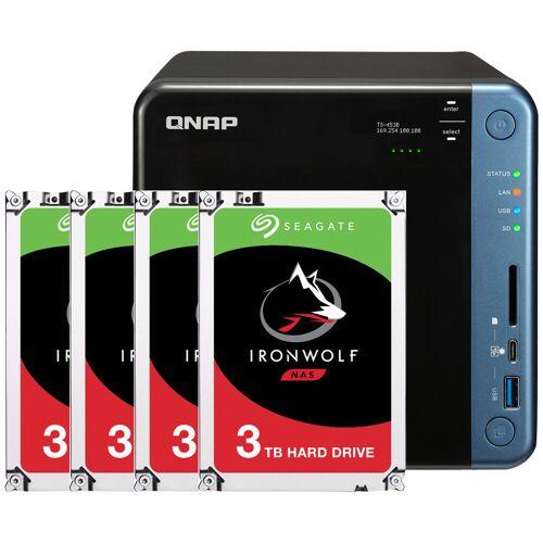 QNAP TS-453Be-4G + 4x 3 TB NAS