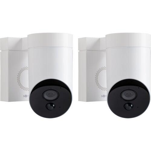 Somfy Outdoorcamera Weiß Duo-Pack IP-Kamera