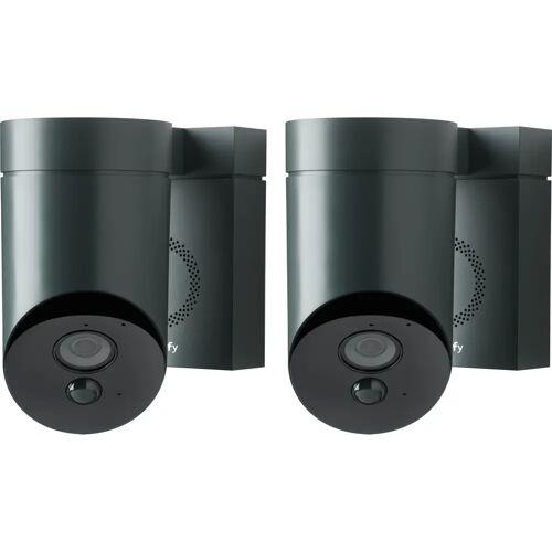 Somfy Outdoorcamera Schwarz Duo-Pack IP-Kamera