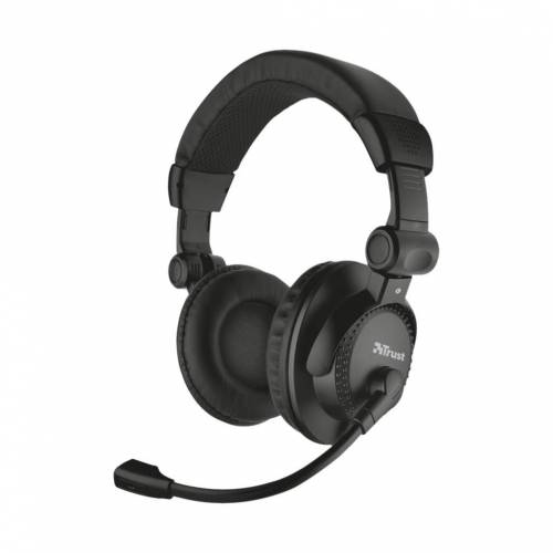 Trust Como Headset für PC und Laptop Office-Headset