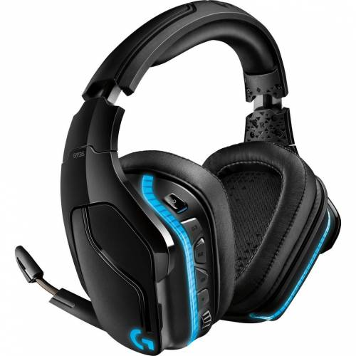 Logitech Gaming-Headset Logitech G935 Wireless 7.1 Surround Sound Lightsync