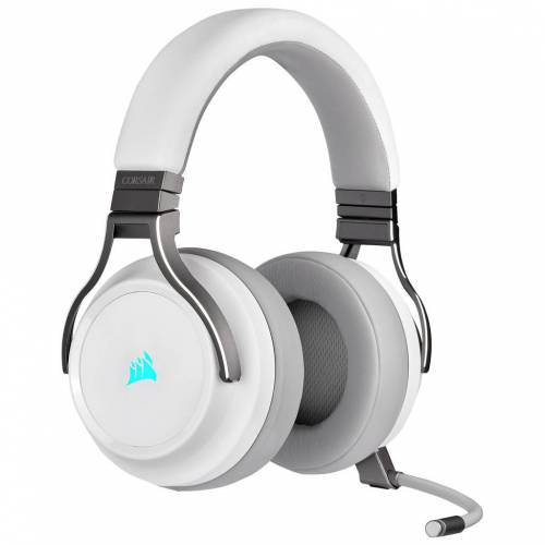 Corsair Kabelloses Gaming-Headset Virtuoso RGB Weiß Gaming-Headset