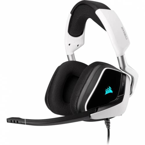 Corsair Gaming-Headset Corsair Void RGB Elite USB PC Schwarz/Weiß